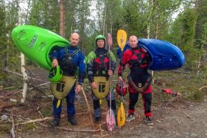 Stefan Pettersson, Ante Danielssson och Lars Larsson.