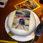 The National Geographic cover cake